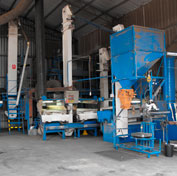 Processing plant at Frances Seeds